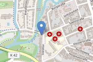 OSM-Karte Praxis Koch-Schulte