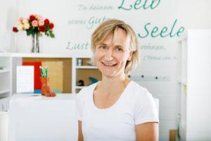 Physiotherapeutin Anja Rösner